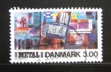 Poštovní známka Dánsko 1988 Unie pracovníků v metalurgii Mi# 926