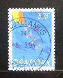Poštovní známka Dánsko 1994 Dětská filatelistická soutěž Mi# 1084