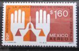 Poštovní známka Mexiko 1977 Ruce a váhy Mi# 1553