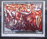 Poštovní známka Mexiko 1981 Dělnická stávka Mi# 1751