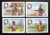 Poštovní známky Ghana 1980 Sir Rowland Hill Mi# 813-16
