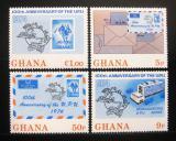 Poštovní známky Ghana 1974 Století UPU Mi# 548-51