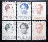 Poštovní známky Lucembursko 1939 Portréty Mi# 333-38 Kat 50€