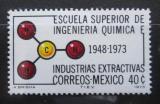 Poštovní známka Mexiko 1973 Chemická VŠ Mi# 1407