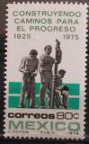 Poštovní známka Mexiko 1975 Údržba silnic Mi# 1476