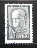 Poštovní známka Finsko 1957 Jean Sibelius Mi# 487