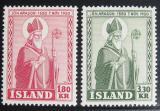 Poštovní známky Island 1950 Biskup Jon Arason Mi# 271-72