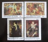 Poštovní známky Čad 1978 Umění, Rubens Mi# 835-38