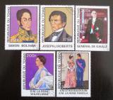 Poštovní známky Čad 1977 Osobnosti Mi# 784-88