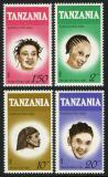 Poštovní známky Tanzánie 1987 Účesy Mi# 386-89
