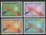 Poštovní známky Togo 1962 Boj proti malárii Mi# 346-49