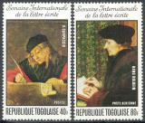 Poštovní známky Togo 1975 Umění Mi# 1122-23