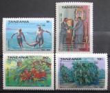 Poštovní známky Tanzánie 1990 Unie se Zanzibarem, 25. výročí Mi# 659-62