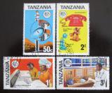 Poštovní známky Tanzánie 1976 Telekomunikace Mi# 54-57