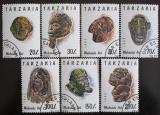 Poštovní známky Tanzánie 1992 Umění Makonde Mi# 1437-43
