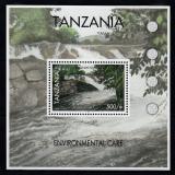 Poštovní známka Tanzánie 2007 Ochrana přírody Mi# Block 606