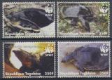 Poštovní známky Togo 2006 Želvy, WWF Mi# 3337-40