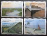 Poštovní známky Tanzánie 2003 Přírodní krásy Mi# 4103-06