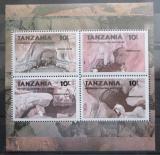Poštovní známky Tanzánie 1991 Přírodní zajímavosti Mi# Block 144