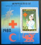 Poštovní známka KLDR 1980 Červený kříž Mi# Block 71