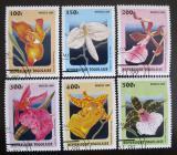 Poštovní známky Togo 1999 Orchideje Mi# 2972-77