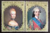 Poštovní známky Čad 1971 Francouzští králové Mi# 359-60