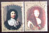 Poštovní známky Čad 1971 Francouzští králové Mi# 395-96