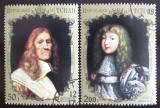 Poštovní známky Čad 1971 Francouzští králové Mi# 427-28