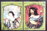 Poštovní známky Čad 1972 Francouzští králové Mi# 459-60