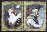 Poštovní známky Čad 1972 Francouzští králové Mi# 570-71