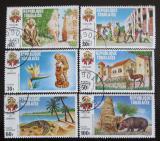 Poštovní známky Togo 1971 Pamětihodnosti Mi# 862-67