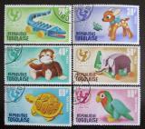 Poštovní známky Togo 1971 UNICEF, 25. výročí Mi# 896-901