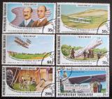 Poštovní známky Togo 1978 První let Mi# 1270-75