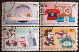 Poštovní známky Togo 1976 Telefon, 100. výročí Mi# 1150-53