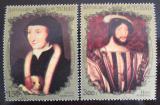 Poštovní známky Čad 1973 Francouzští králové Mi# 663-64