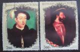 Poštovní známky Čad 1973 Francouzští králové Mi# 665-66