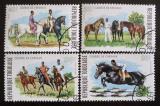 Poštovní známky Togo 1974 Dostihy Mi# 1057-60