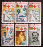Poštovní známky Togo 1966 Červený kříž Mi# 507-12