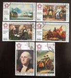 Poštovní známky Togo 1976 Americká revoluce Mi# 1144-49