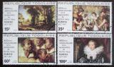 Poštovní známky Togo 1977 Umění, Rubens Mi# 1245-48