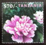 Poštovní známka Tanzánie 2009 Peonie Mi# 4632