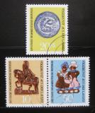 Poštovní známky DDR 1969 Lužické lidové umění Mi# 1521-23 Kat 9€