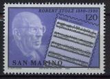 Poštovní známka San Marino 1980 Robert Stolz, skladatel Mi# 1219