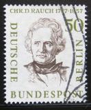 Poštovní známka Západní Berlín 1957 Christian D. Rauch, sochař Mi# 172