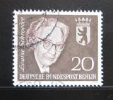 Poštovní známka Západní Berlín 1961 Louise Schroeder, politička Mi# 198