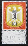Poštovní známka Západní Berlín 1955 Znak Berlína Mi# 129