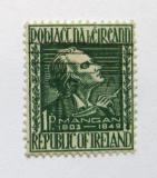 Poštovní známka Irsko 1949 James Clarence Mangan Mi# 110