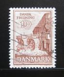 Poštovní známka Dánsko 1962 Starý mlýn Mi# 404