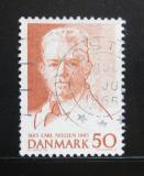 Poštovní známka Dánsko 1965 Carl Nielsen, skladatel Mi# 432