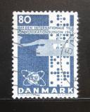 Poštovní známka Dánsko 1965 ITU, 100. výročí Mi# 431